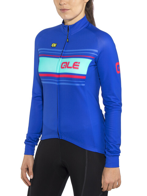 Alé Cycling Solid Sinuosa - Maillot manches longues Femme - bleu